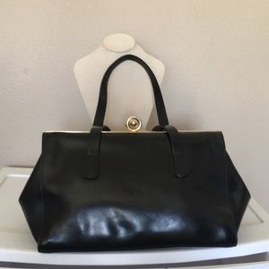 Alberta di Canio leather bag
